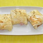 Plăcintă cu fennel şi şuncă