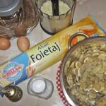 Ingrediente foietaj cu ciuperci