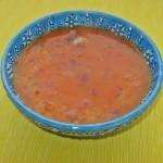 Supă de linte roşie cu bulgur