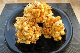 Popcorn cu caramel