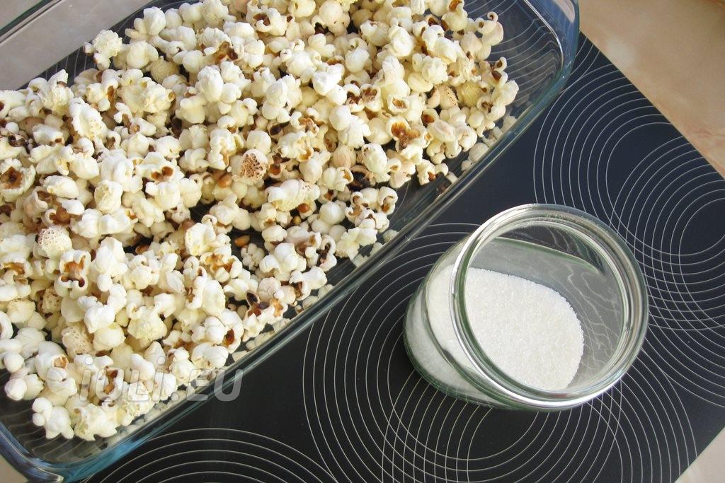 Calorii popcorn cu caramel