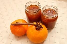 Gem de mandarine cu anason si scortisoara