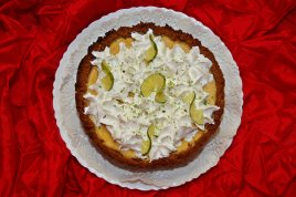 Placinta americana cu Lime - Key Lime Pie