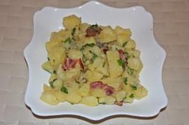 Kartoffelsalat reteta nemteasca salata cartofi cu bacon