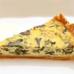 Placinta cu spanac – Quiche cu spanac