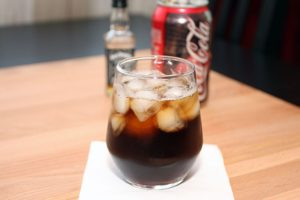 Jack and Coke Cocktail
