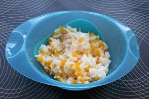 Orez cu piept de pui si legume