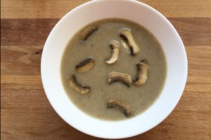 Supa crema de ciuperci - reteta de post